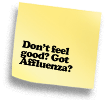 Don't Feel Good? Got Affluenza?