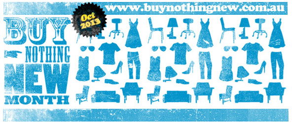 Buy Nothing New Month 2013