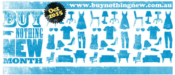Buy Nothing New Month 2015