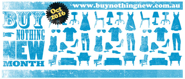 Buy Nothing New Month 2016