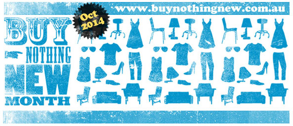 Buy Nothing New Month 2014