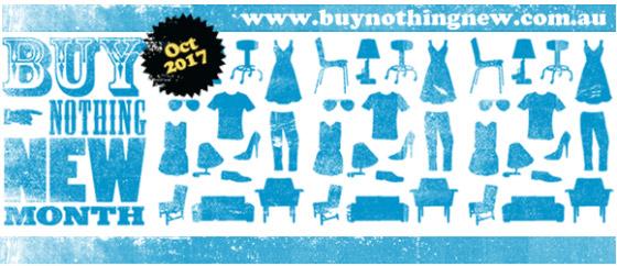 Buy Nothing New 2017